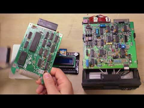 TRS-80 Coco Retro Computer Storage Showdown