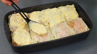 Теперь рыбу в духовке готовлю ТОЛЬКО ТАК! Вы тоже влюбитесь в это блюдо! Попробуйте! РЫБА В ЛАВАШE