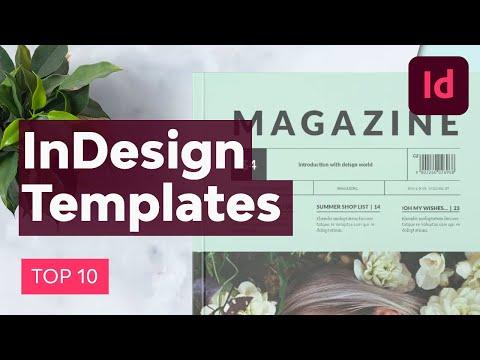 10 InDesign Templates Every Designer Should Own