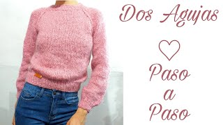 Sueter Tejido A Dos Agujas - Knit Sweater
