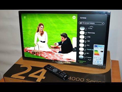 PHILIPS 24PFT4022 видео обзор Интернет магазина