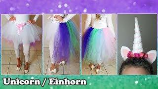 DIY: Unicorn / Einhorn / Costume / Kostüm