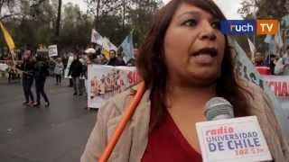 ruchTV: Marcha del 1 de mayo en Santiago