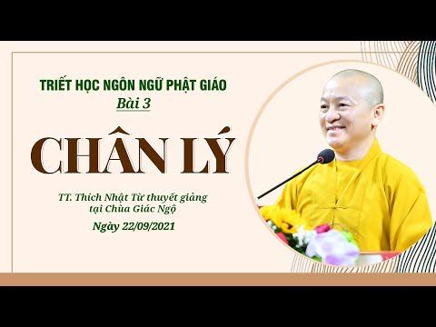 Chân lý l Triết học ngôn ngữ Phật giáo