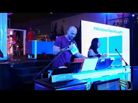 REDFOX Wizpad 5 featured in the Windows Glass House Launch