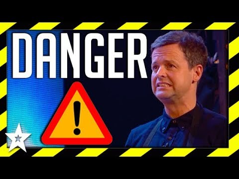 Most Dangerous Acts on Britain's Got Talent 2018 | Got Talent Global (видео)