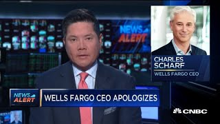 Wells Fargo CEO Charles Scharf apologizes for comments on diversity