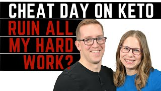 Does A Cheat Day On Keto Ruin All My Hard Work?   With Health Coach Tara & Jeremy   Keto Diet Tips