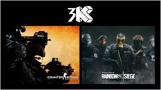 Rainbow Six: Siege Vs Counter Strike: Global Offensive