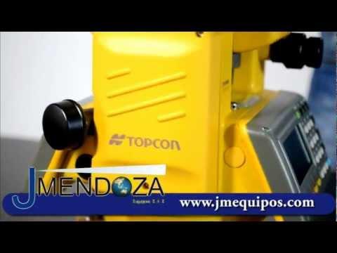 ESTACION TOTAL TOPCON GTS-240 - JM EQUIPOS