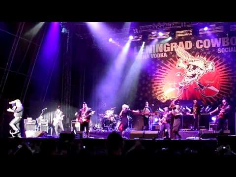 Leningrad Cowboys - Machine Gun Blues, Masters of Rock 2013