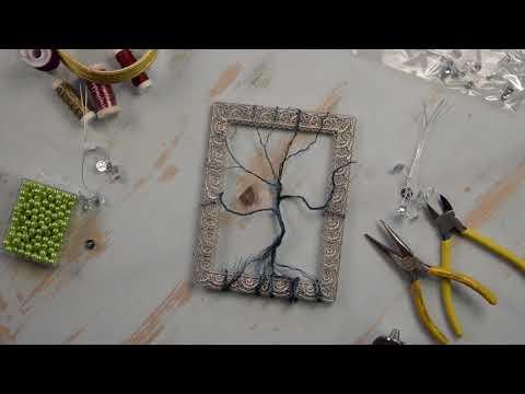 Crafty Creative: Wire Tree Photo Frame