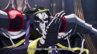 Lupusregina Beta  - (Overlord) - Ainz meeting Baharuth Emperor in Nazarick - Overlord season 3 Episode 9