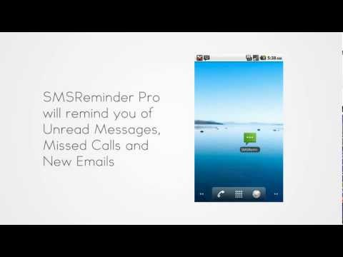 Video of SMS Reminder Pro