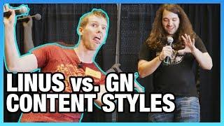 Linus Vs. GN Content Style & Commenters, Ft. Linus Sebastian