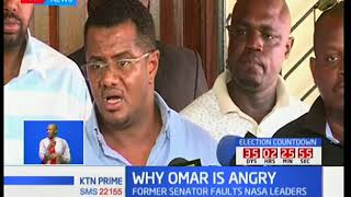 Former Mombasa Senator Omar Hassan faults NASA leader Raila Odinga after his defeat to Ali Hassan