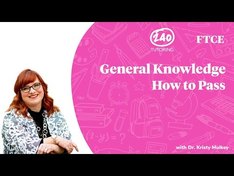 How to Pass the FTCE General Knowledge Exam - YouTube