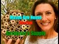 Rustic Mason Bee House Review from Gardener's Supply Company~