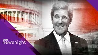 John Kerry on Trump: 'The worst President in American history' - BBC Newsnight