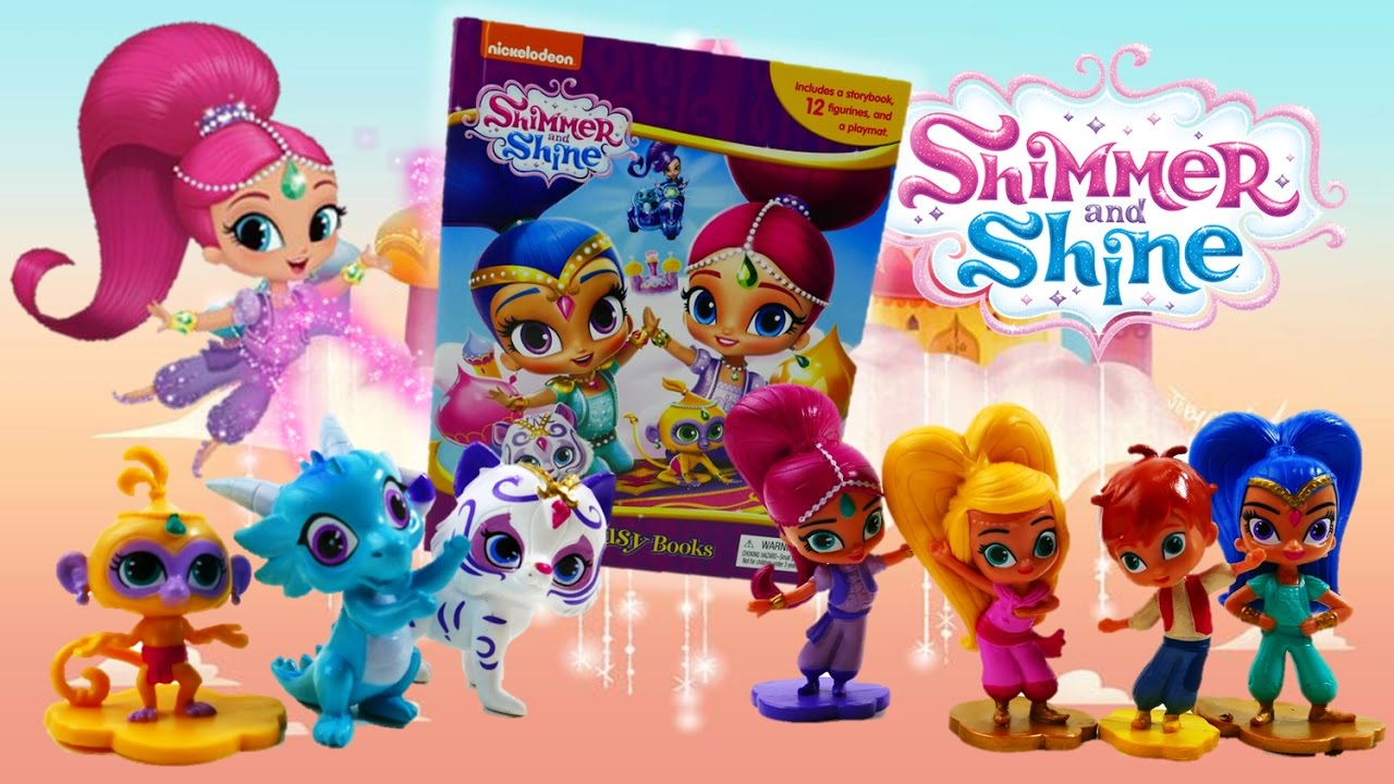 Shimmer and Shine My Busy Books Read and Review  Evies Toy House