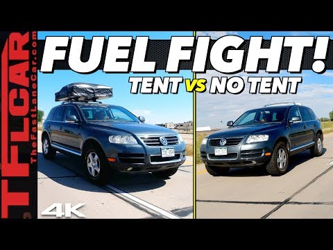 You'll Be Shocked By Just How Much a Roof Top Tent Kills Your Fuel Economy!