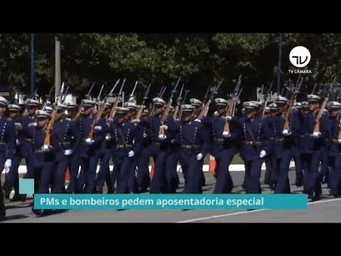 PMs e bombeiros querem ser incluídos na reforma da Previdência dos militares - 05/09/19