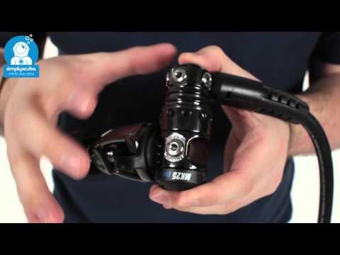 Scubapro Carbon Black Tech MK25 A700 Regulator – www.simplyscuba.com