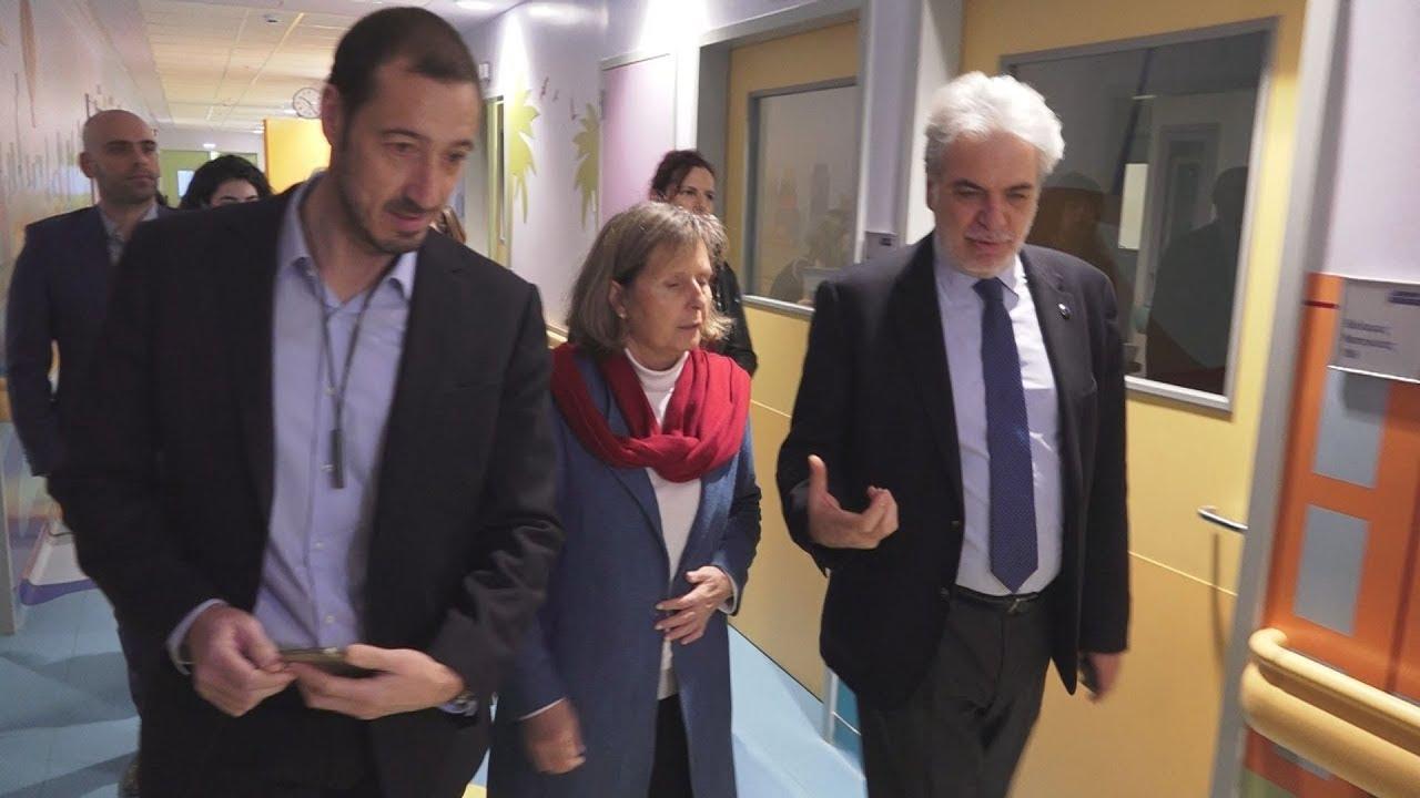 Ο Χρήστος Στυλιανίδης στο νοσοκομείο Παίδων «Παναγιώτη & Αγλαΐας Κυριακού»