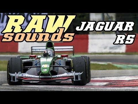 RAW sounds - Jaguar R5 (Cosworth V10)