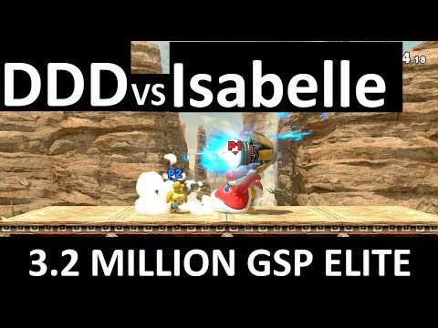 Super Smash Bros Ultimate Elite Matches: King Dedede vs Ken