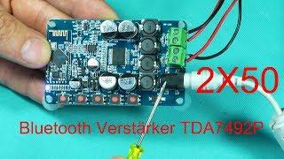 Bluetooth Verstärker TDA7492P 2x50W