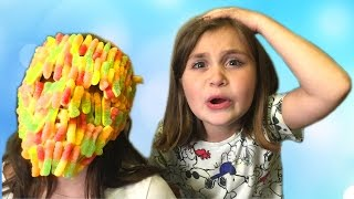 BАD BABY АНЯ в МАРМЕЛАДЕ! LOTS OF CANDY CHALLENGE GUMMY FACE