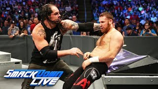 Baron Corbin demolishes Sami Zayn in brutal beatdown: SmackDown LIVE, May 23, 2017