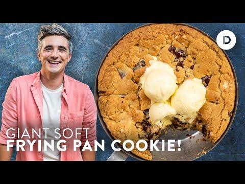 Gooiest ONE PAN Chocolate Chip Cookie & BIG NEWS!