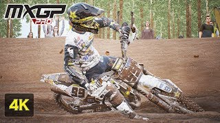 MXGP PRO 4K Gameplay Onboard Race at Agueda Portugal - Antonio Cairoli - Stage # 12