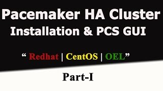 Redhat Pacemaker Cluster Installation And Introducing To PCS GUI |Redhat 7| CentOS 7- Part 1