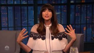 Late With Seth Meyers - Caitriona Balfe