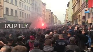 LIVE: Protesters head to Berlin's leftist Kreuzberg district for May Day demo