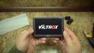 Накамерный монитор Viltrox DC 50 распаковка и тест (старое видео перезалив)