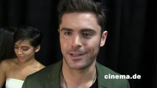 Baywatch // Zac Efron // Interview // CINEMA-Redaktion