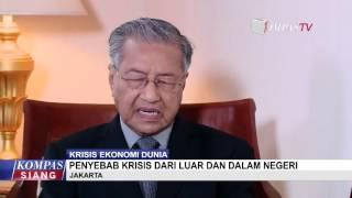 Penyebab Krisis Ekonomi Menurut Mahathir Mohammad