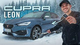 Der neue CUPRA LEON | Action im Schneechaos mit FPV Drohne! | Daniel Abt