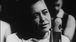 Billie Holiday ft Her All Star Band - Fine & Mellow (CBS Studios Video 1957)