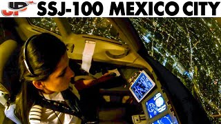 Night Flight to Mexico City with Alejandra