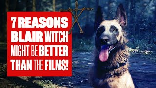 7 Reasons Blair Witch Is Better Than The Film? Blair Witch PC Gameplay