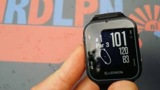 Garmin Approach S20 Functions and Settings