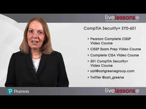 CompTIA Security+ SY0 601 Complete Video Course: Introduction ...