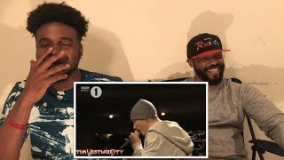 Eminem - Tim Westwood Freestyle Reaction