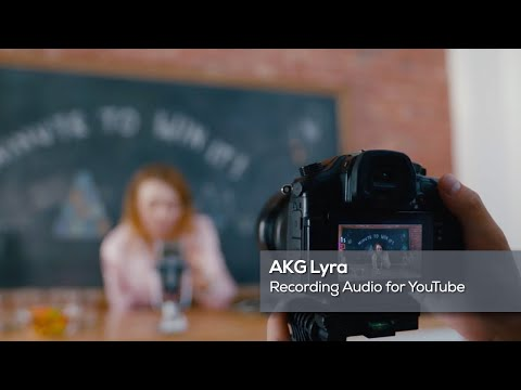 AKG Lyra: Recording for YouTube
