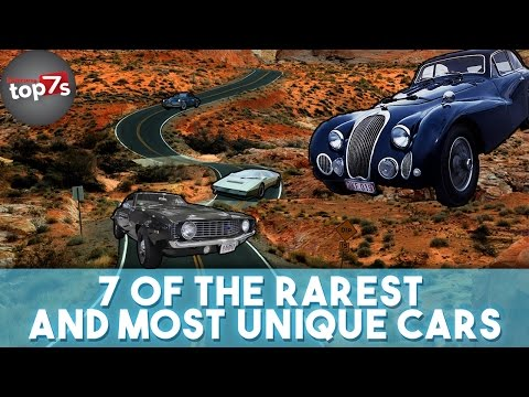 7 Of The Rarest And Most Unique Cars